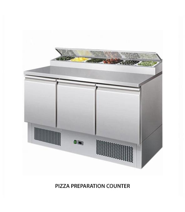 Pizza Preparation Counter